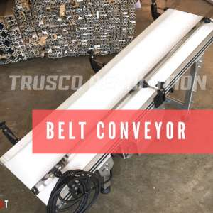WHITE PU BELT CONVEYORS