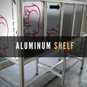ALUMINUM SHELF