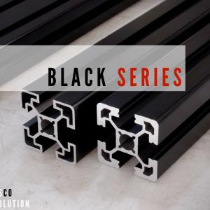 Black Series Aluminum Profile
