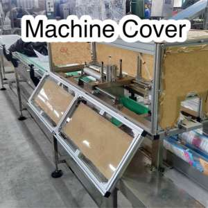 Transparent Machine Cover